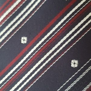 Tango Tie Dark Red White Blue